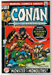 CONAN the BARBARIAN 21, FN+, Barry Smith, Robert Howard, 1970, more in store