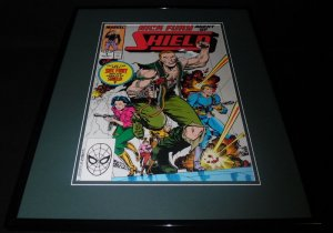 Nick Fury Agent of Shield #4 Framed 16x20 Official Repro Cover Poster Display
