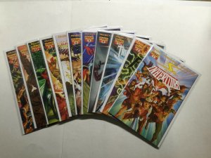 Project Superpowers 0 1-7 Chapter 2 1-8 10-12 Prelude Lot  Near Mint Nm Dynamite