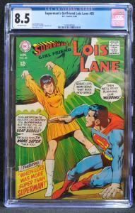 Lois Lane #85 (DC, 1968) CGC 8.5