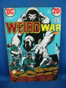 WEIRD WAR 8 VG F NEAL ADAMS 1972