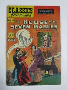 CLASSICS ILLUSTRATED 52  HRN 53 G House of 7 Gables