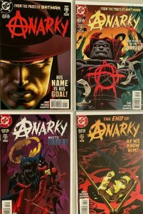 Anarky set from #1-4 all 4 different books 1st Series 8..0 VF (1997)