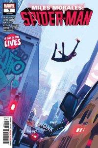 Miles Morales: Spider-Man #7, NM + (Stock photo)