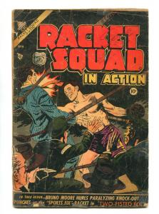 RACKET SQUAD IN ACTION #14 1953-CHARLTON-FR