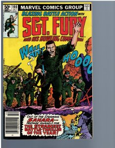 Sgt. Fury and His Howling Commandos #166 (Marvel, 1981)