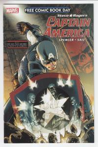 Captain America Steve Rogers Marvel Unstamped NM- FCBD 2016