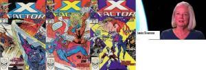 X FACTOR 51-53  Louise Simonson  X-Factor vs SABRETOOTH