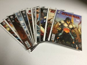 Grimm Fairy Tales Realm War Age For Darkness 1-10 12 Nm Near Mint Zenescope