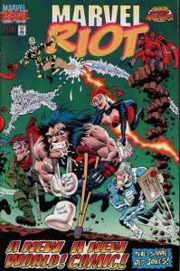 Marvel Riot #1 FN; Marvel | save on shipping - details inside
