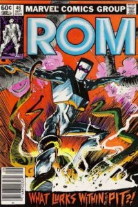 Rom (1979 series) #46, VF+ (Stock photo)