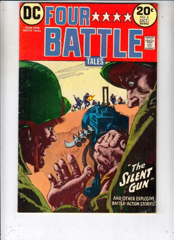 Four Star Battle Tales #4 (Sep-73) VF/NM High-Grade The Three Frogmen