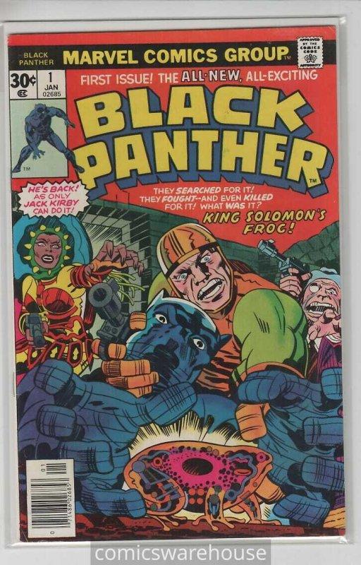 BLACK PANTHER (1977 MARVEL) #1 VF+ A08301