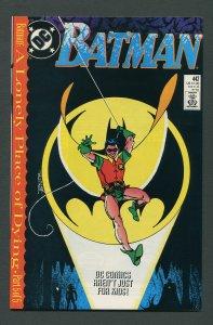 Batman #442 / 9.4 NM (1st Tim Drake Robin) December 1989