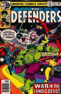DEFENDERS #67, VF/NM, Hulk, Dr Strange, HellCat, Valkyrie, 1972 1979, Marvel