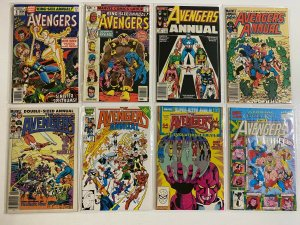 Avengers comic lot Marvel 41 pieces average 8.0 VF (Years Vary)
