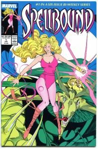 SPELLBOUND #1 2 3 4 5 6, NM-, 1988,  6 issues, more Marvel in store, 1-6