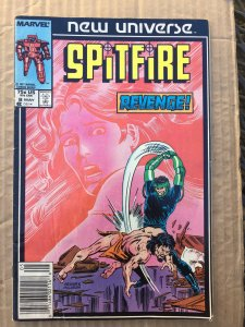 Spitfire and the Troubleshooters #8 (1987)