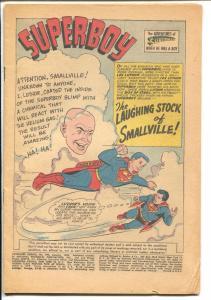 Adventure #292 1962-DC-Superboy-Bizarro-Frankenstein-P