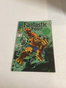 Fantastic Four 79 Vf- Very Fine- 7.5 Marvel Comics Silver Age