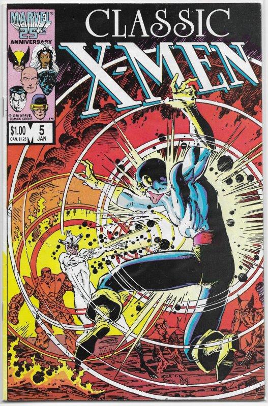 Classic X-Men   # 5 GD (rep. XM 97) Claremont/Cockrum, new CC/Bolton back-up