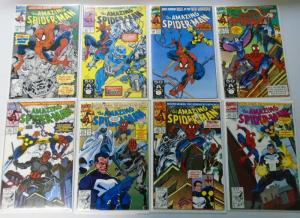 Amazing Spider-Man Comic Lot, From:#350-399, 42 Different, 8.0/VF (1991-1995)