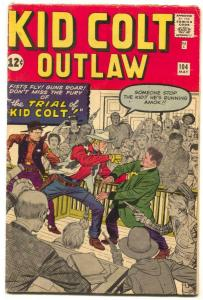 Kid Colt Outlaw #104 1962-  Jack Kirby- Marvel Western VG+