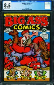 Big Ass Comics #2 CGC 8.5 Robert Crumb underground comix 1297065004