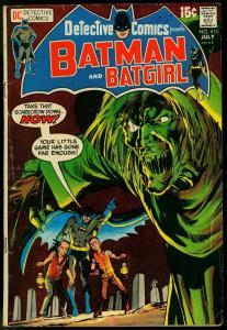 DETECTIVE COMICS #413-BATMAN-BATGIRL-DC VG