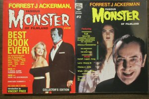 Forrest J Ackerman Famous Monster of Filmland Collector's Edition Book #1 + 2