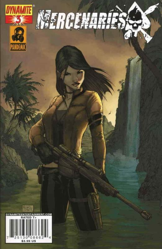 Mercenaries #3A VF/NM; Dynamite | save on shipping - details inside