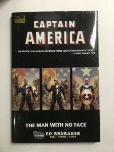 Captain America The Man With No Face Tpb Hardcover Hc Near Mint Nm Marvel