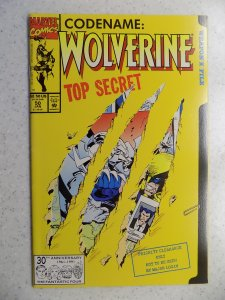 WOLVERINE # 50 CLAW CUT COVER MARVEL X-MEN MUTANTS