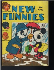 New Funnies #104 (Dell, 1945)