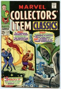 Marvel Collector's Item Classics 17 Oct 1968 FI- (5.5)