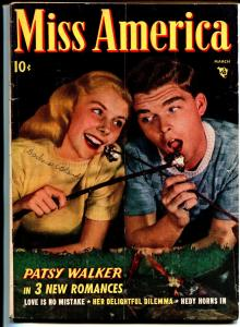 Miss America Vol. 7 #8 1948-Timely-Patsy Walker-comics-Marshmallow-fashion-VG-