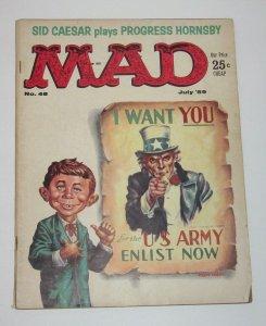 Mad Magazine #48 Uncle Sam July 1959 EC Publications VG