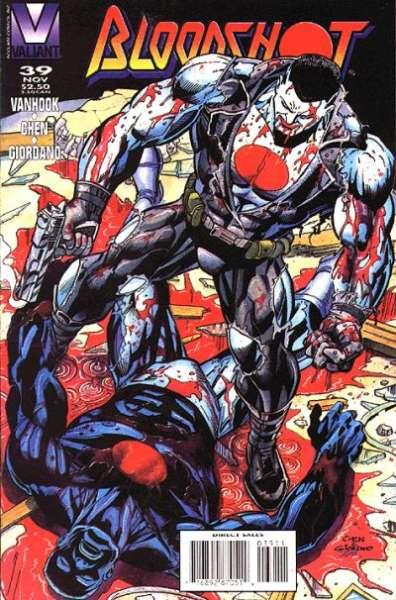 Bloodshot (1993 series) #39, VF+ (Stock photo)