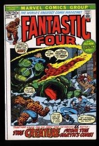 Fantastic Four #126 VF- 7.5