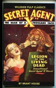 Secret Agent X September 1935- Pulp Reprint-2004-Legion of Living Dead-NM
