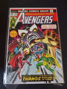 ​THE AVENGERS #125 FIRST TIME THEY ENCOUNTER THANOS HIGH GRADE VF/NM