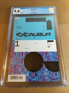 Excalibur #1 CGC Universal Grade 9.8 NM/MT Muller Variant Cover