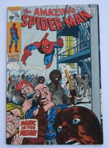 Amazing Spider-Man #99 FN+ Panic In The Prison Marvel Bronze Age Comic 1971