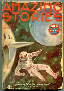 Amazing Stories Pulp November 1933- J Lewis Burtt F/G