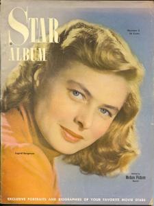 Star Album-Ingrid Bergman-Betty Grable-Gene Kelly-Nov-1949