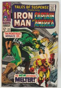 Tales of Suspense #89 (May-67) VF+ High-Grade Iron Man, Captain America, Buck...