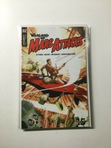 Warlord of Mars Attacks 2 Near Mint Dynamite Entertainment HPA