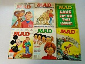 MAD Magazine 80's Lot 16 Different