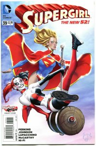 SUPERGIRL #39, VF/NM, Harley Quinn, 2011, New 52, Variant, more HQ in store