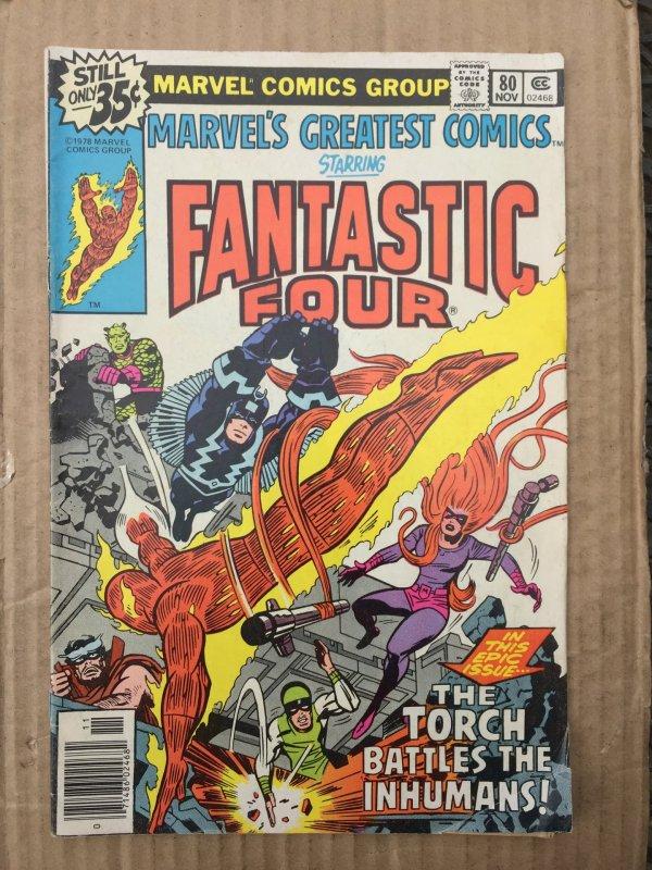 Marvel's Greatest Comics #80